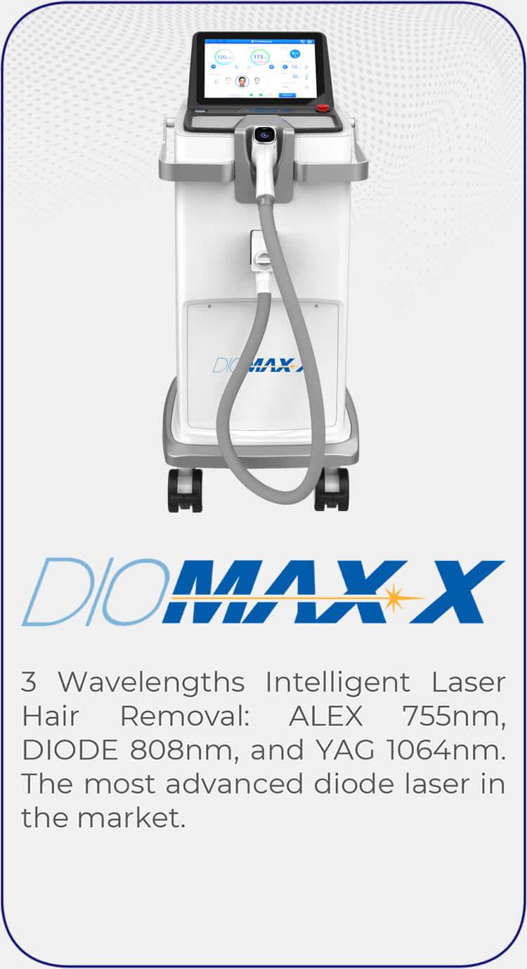 Diomax-X-Laser-Hair-Removal-Machine
